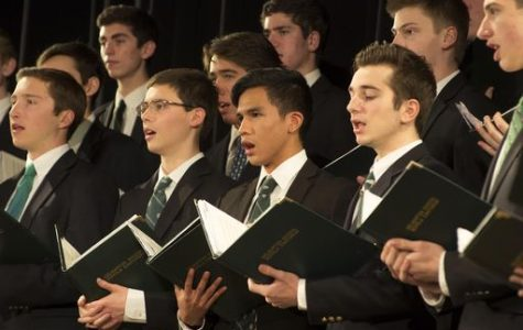 Delbarton School Hosts Men's Choral Festival, January 28