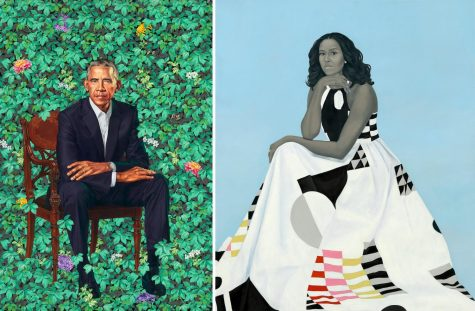 The Unveiling of the Portraits of Barack Obama and Michelle Obama