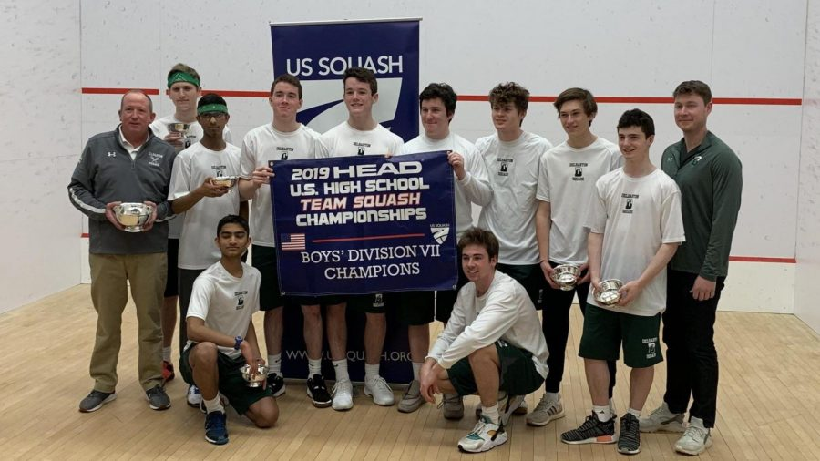 Delbarton Squash Team Becomes National Champions