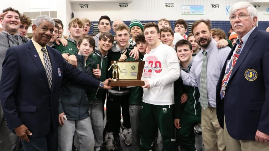 Green Wave Wrestling Wins State Championship