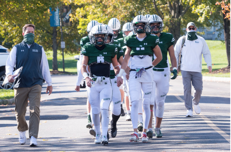 Delbarton Continues Undefeated Streak With Senior Day Blowout
