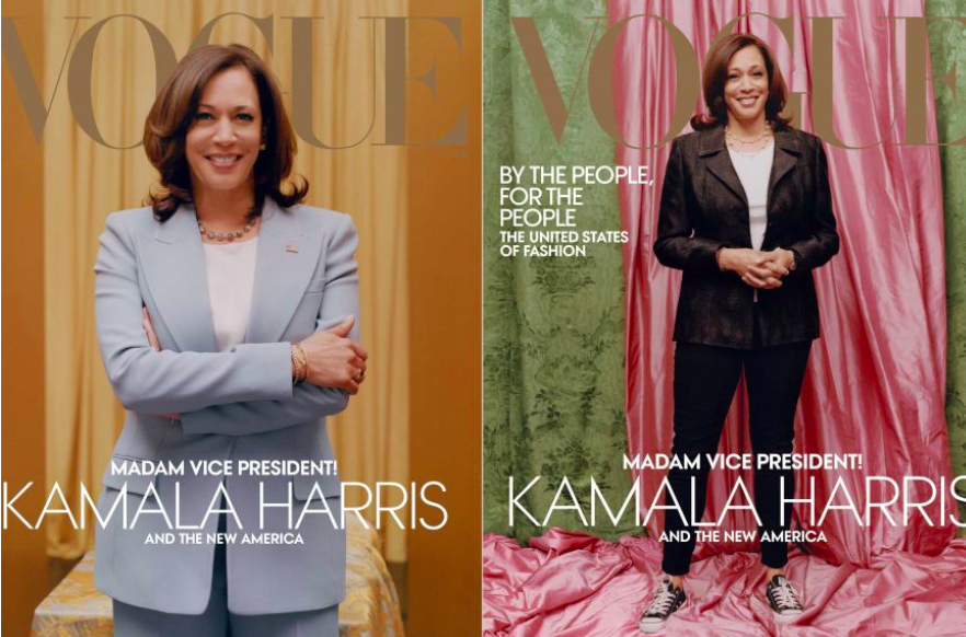 Political Fashion - The Uproar Over Kamala Harris' Vogue Cover